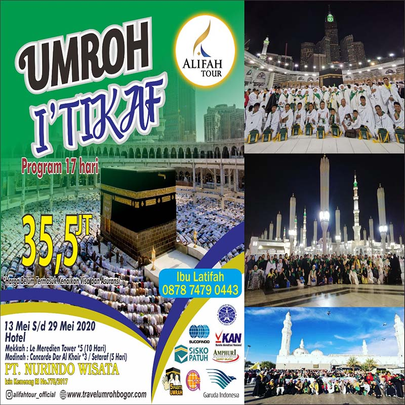 program itikaf 17 hari