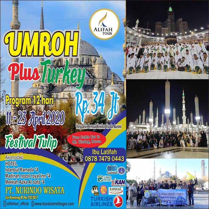 program umroh plus turki